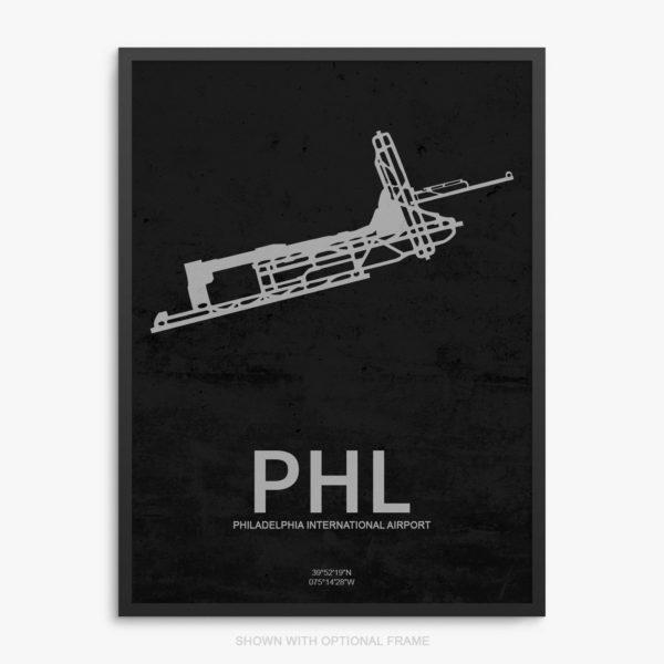PHL Airport Poster
