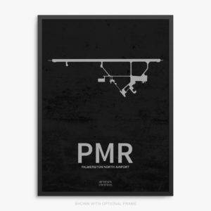 PMR Airport Poster