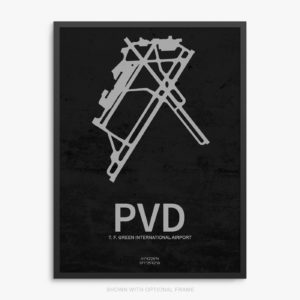 PVD Airport Poster