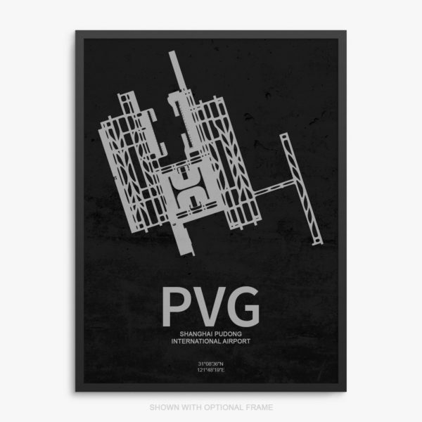 PVG Airport Poster