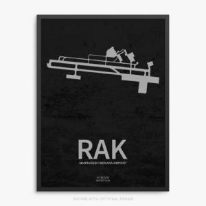 RAK Airport Poster