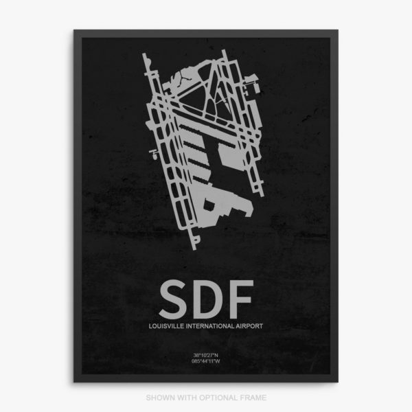 SDF Airport Poster