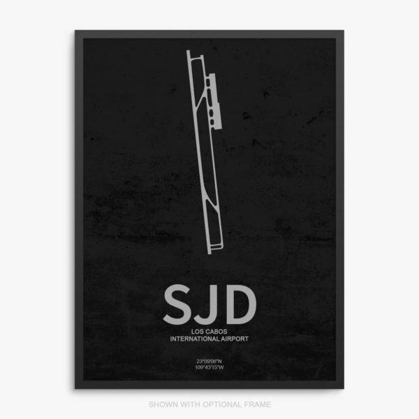 SJD Airport Poster
