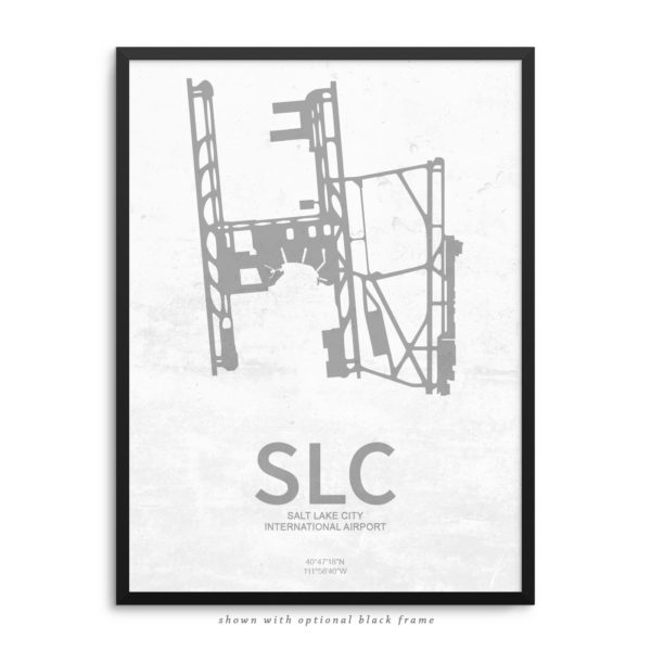 SLC Airport Poster