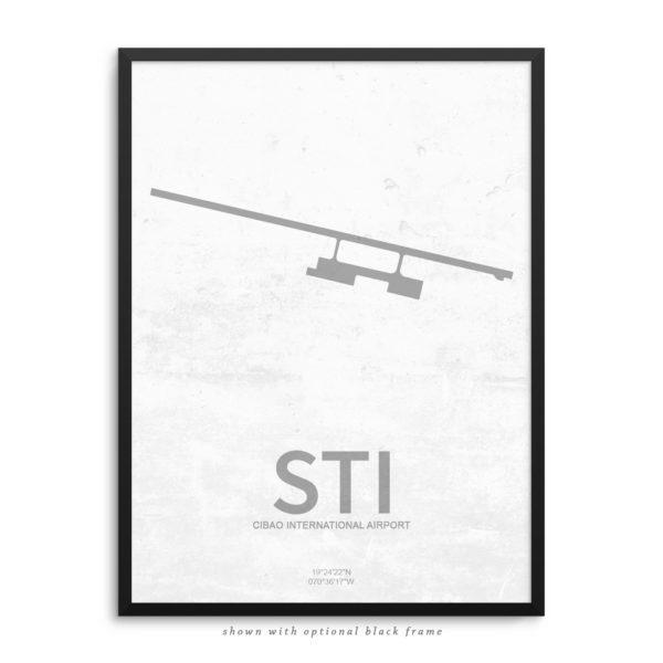 STI Airport Poster
