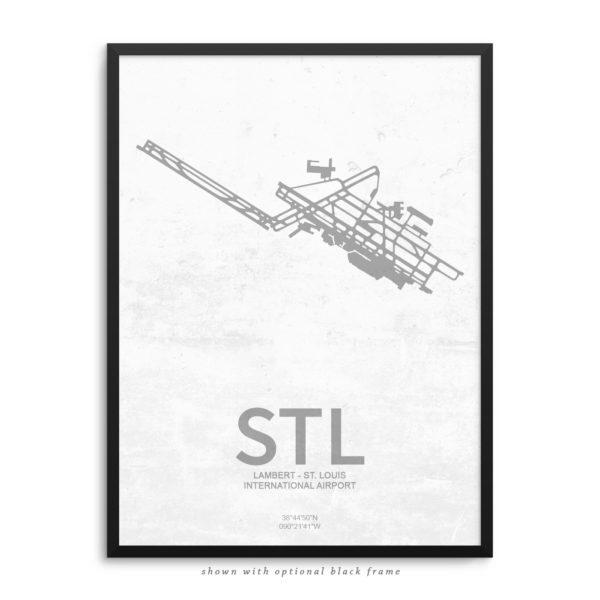 STL Airport Poster