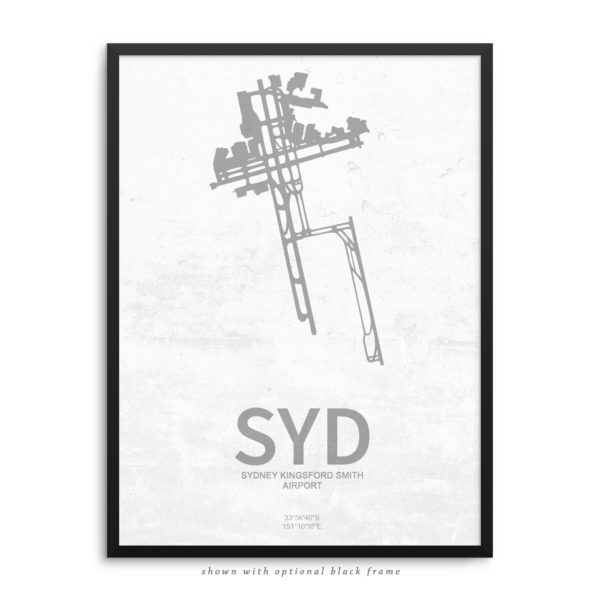 SYD Airport Poster