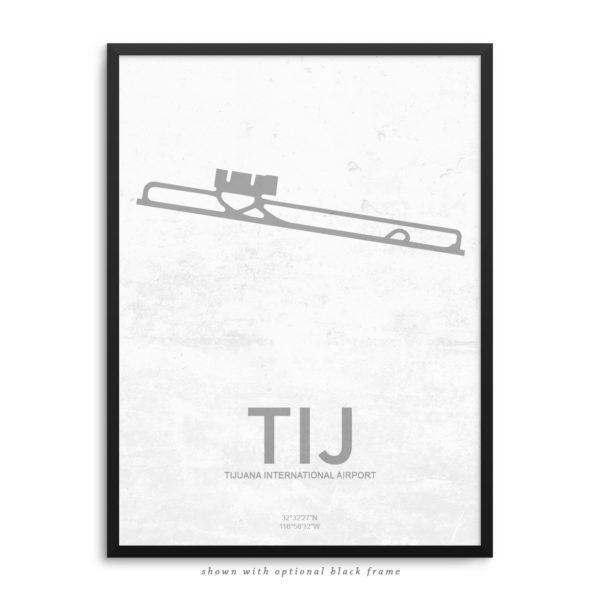 TIJ Airport Poster