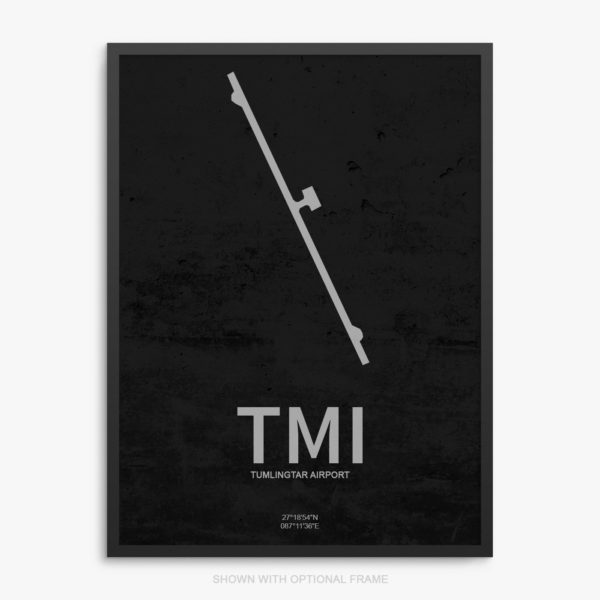 TMI Airport Poster