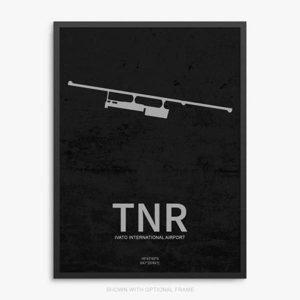 TNR Airport Poster