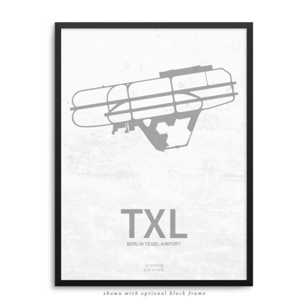TXL Airport Poster