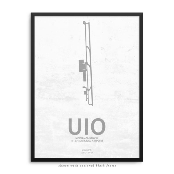 UIO Airport Poster