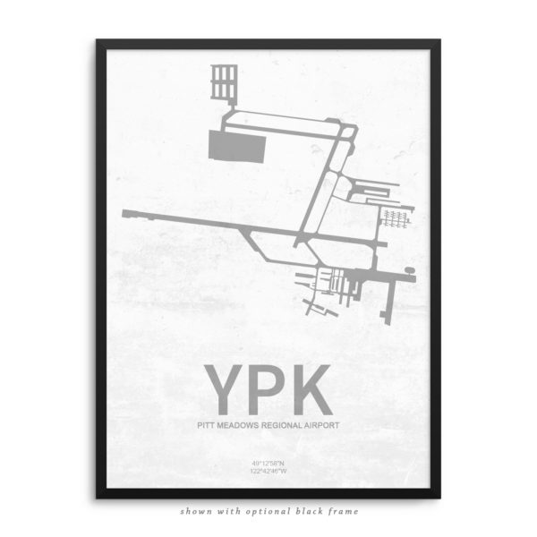 YPK Airport Poster