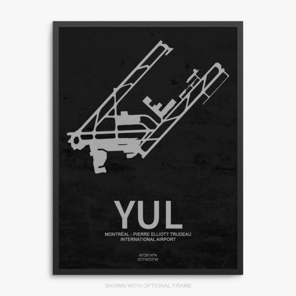 YUL Airport Poster
