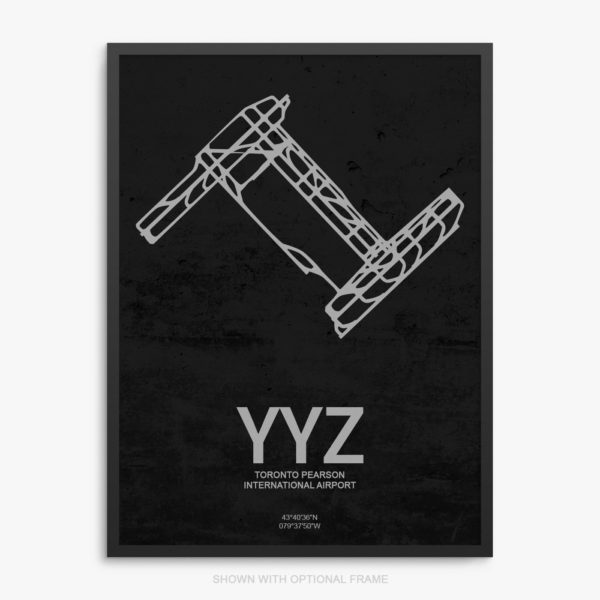 YYZ Airport Poster