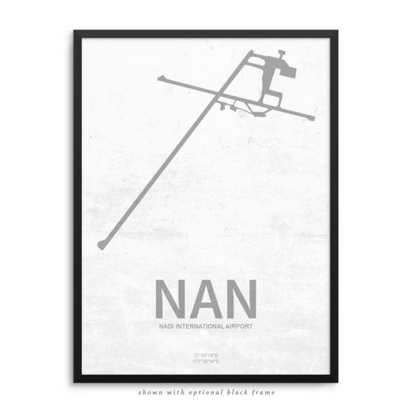 NAN Airport Poster