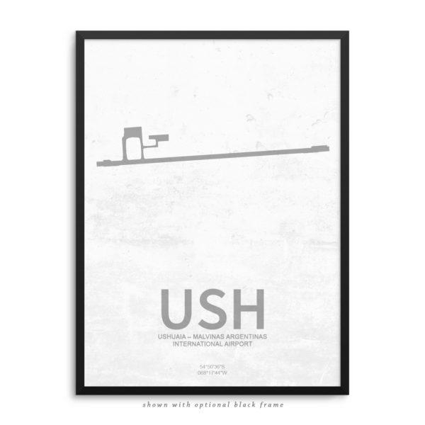 USH Airport Poster