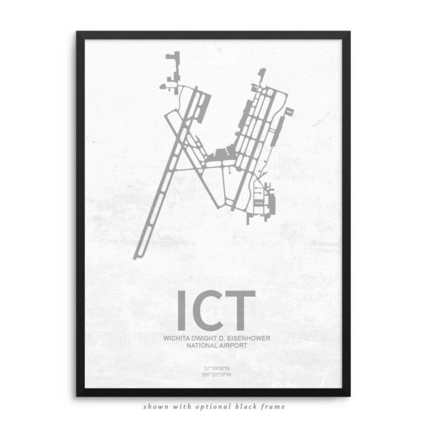 ICT Airport Poster