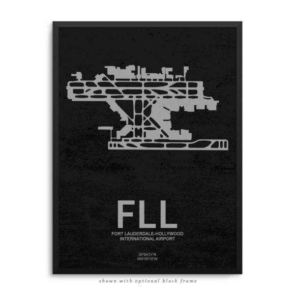 FLL Airport Poster
