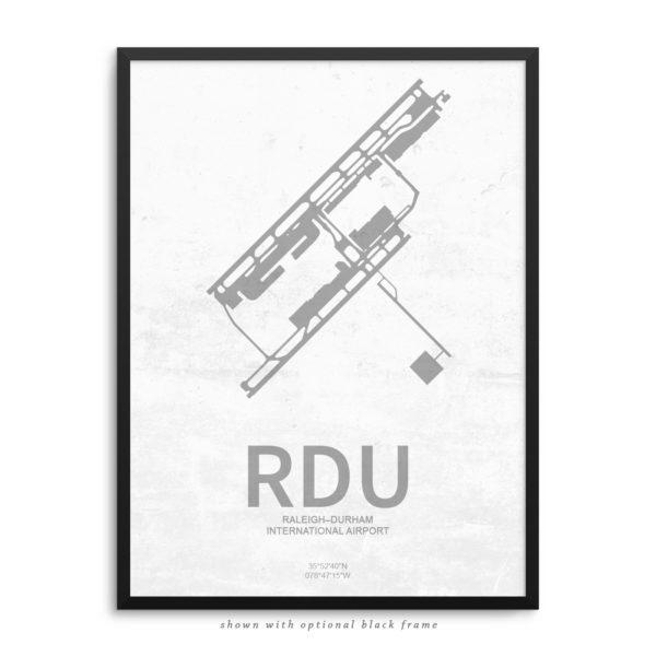 RDU Airport Poster