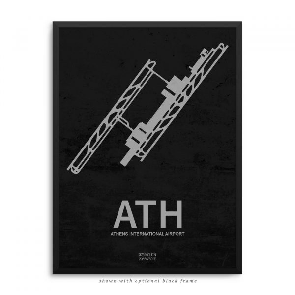 ATH Airport Poster