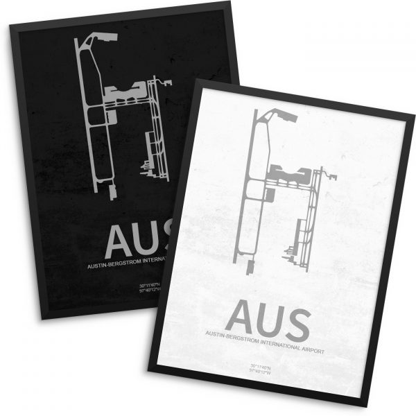 AUS Airport Poster