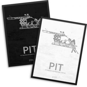 PIT Airport Poster